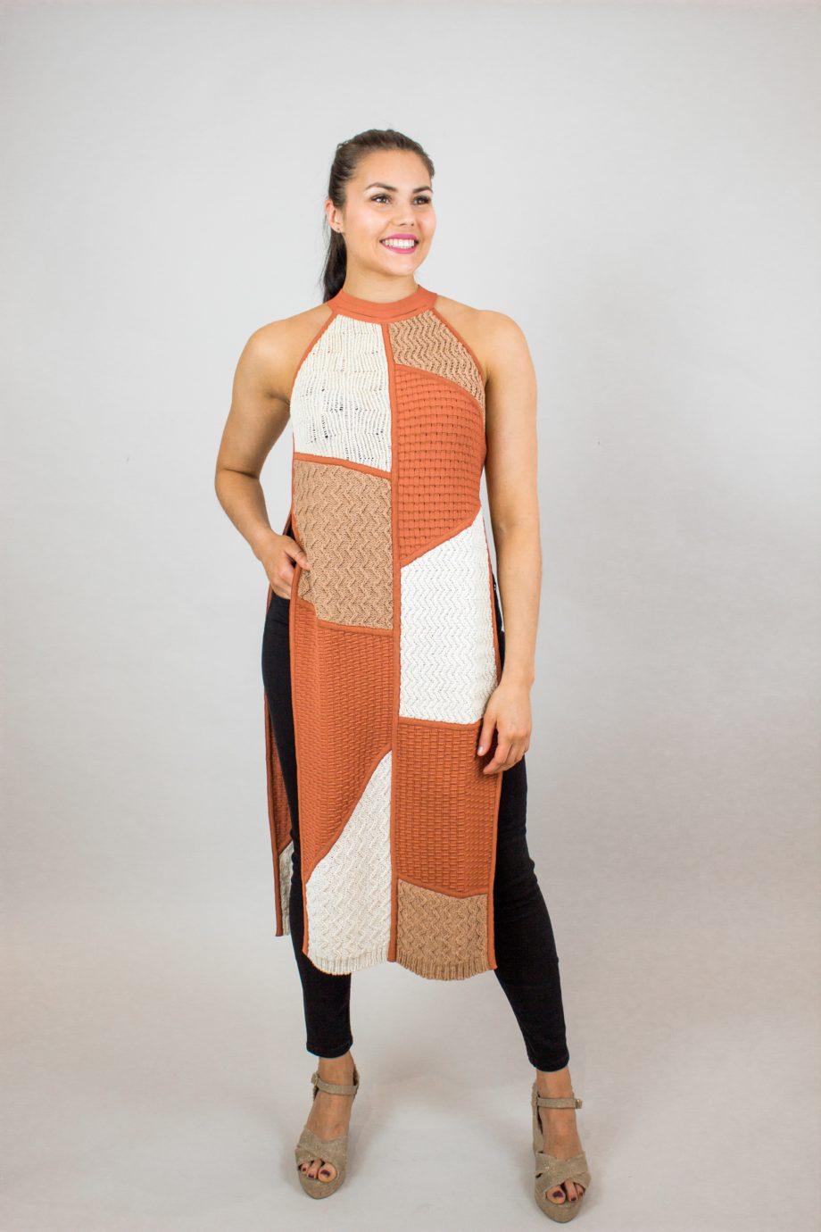 25. NANUSHKA Wendi knitted vest
