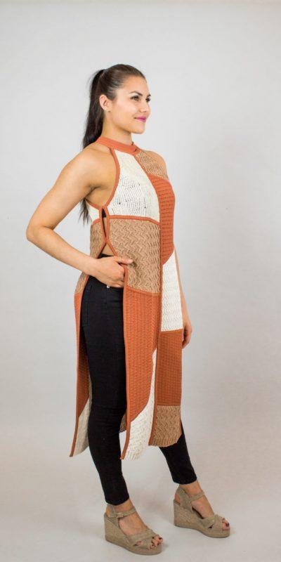 NANUSHKA Wendi knitted vest