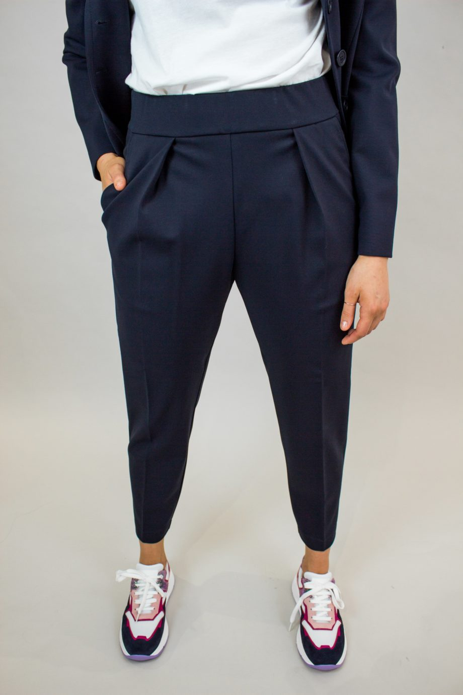 5. SEVENTY Dark blue trousers