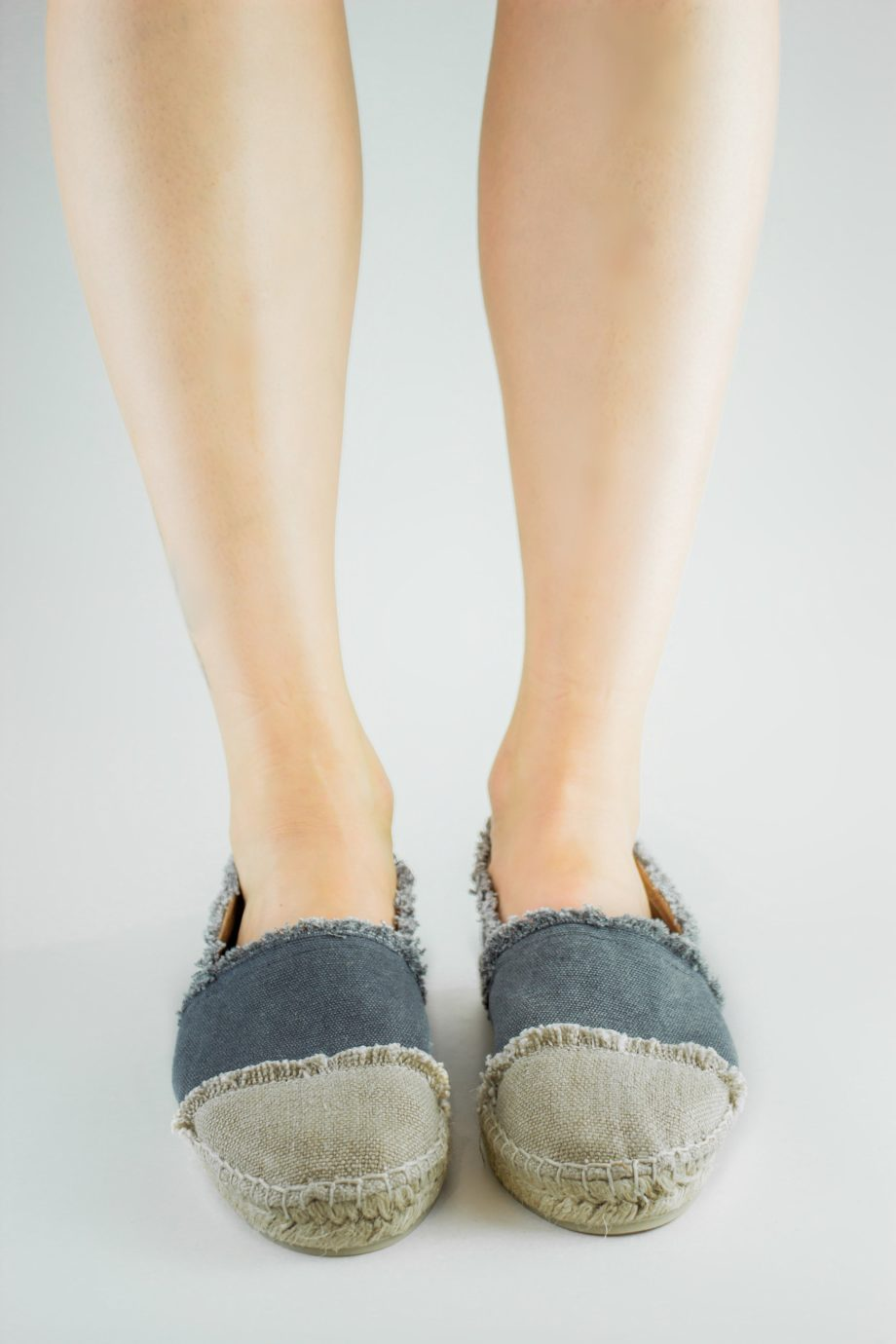 Espadrille flat Kampala made in canvas