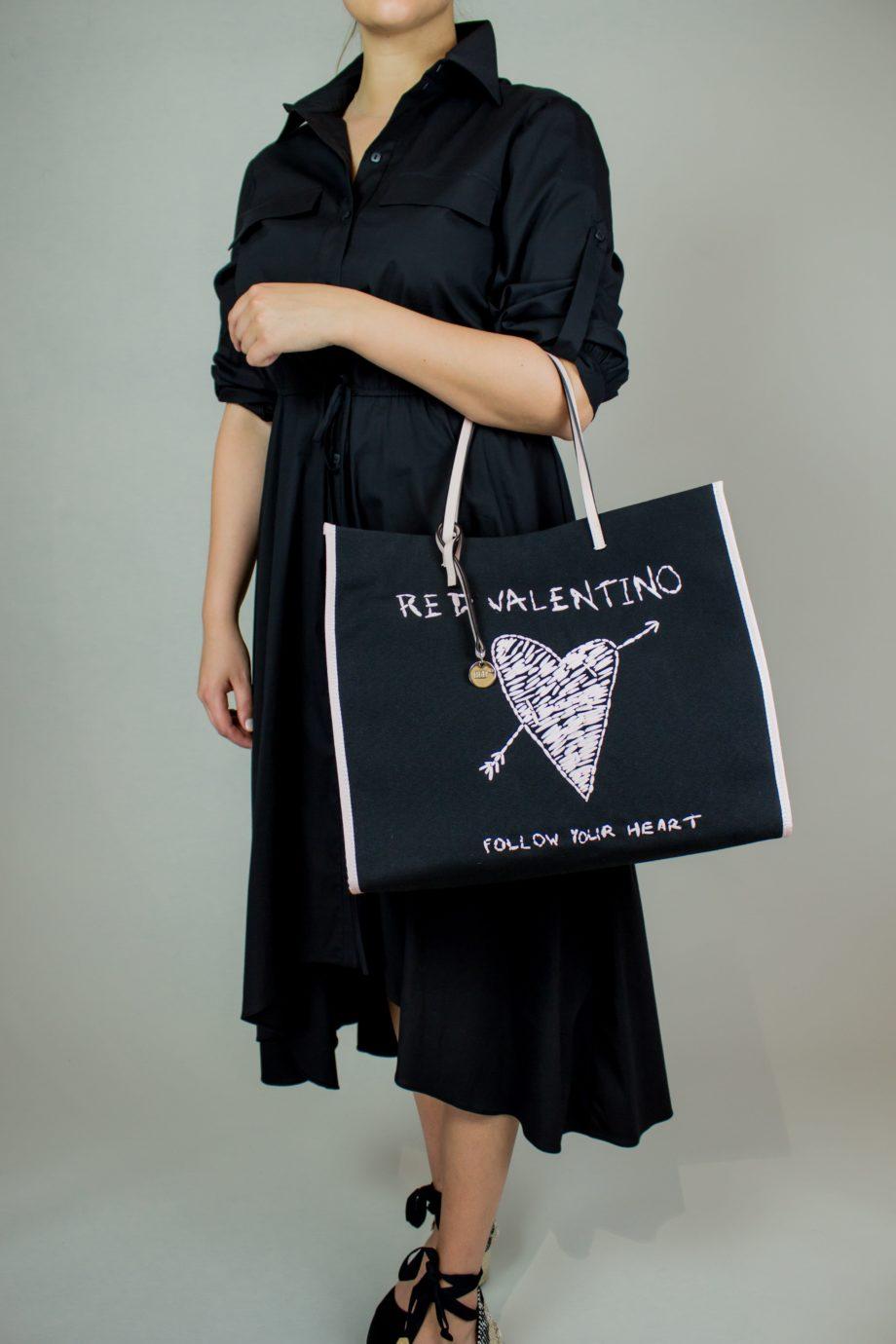 7. KRISTINA TI Black cotton dress