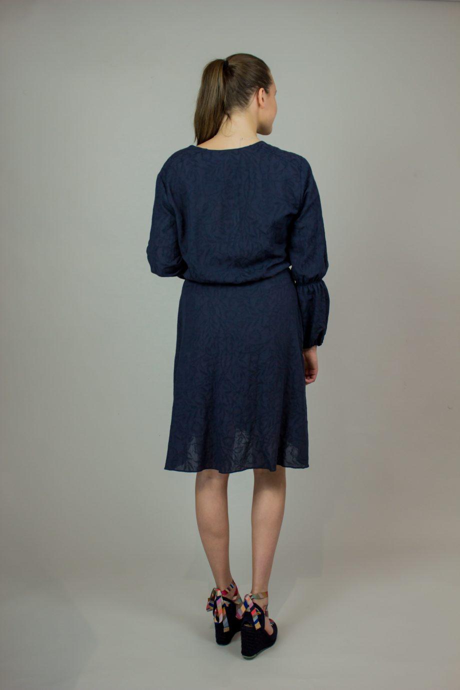 12. KRISTINA TI Dark blue dress