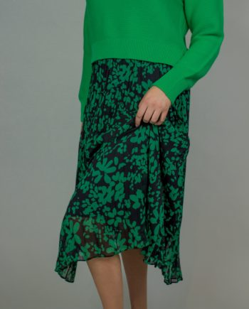 FRENCH CONNECTION floral midi skirt