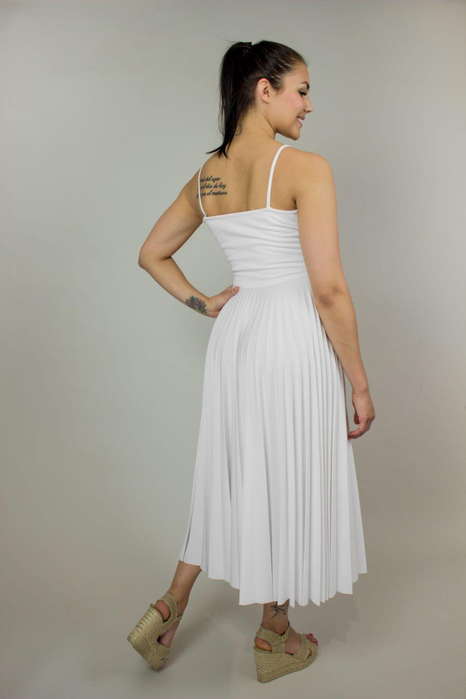 22. RED VALENTINO White jersey dress