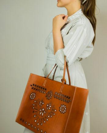 RED VALENTINO Totem bag (brown)