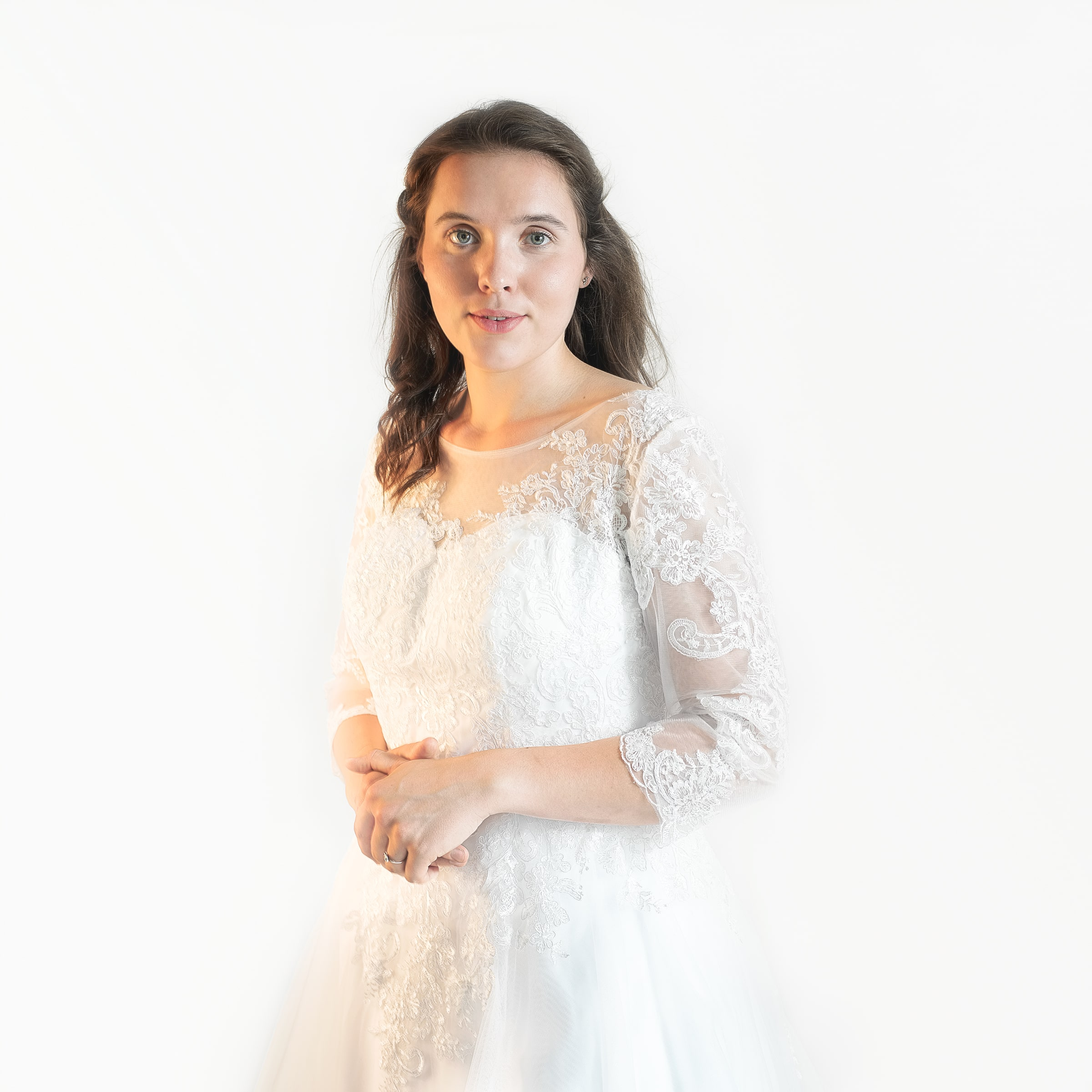 Eric dress long sleeves lace