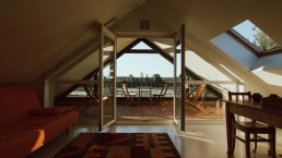 genieten van rust en natuur in het comfortabele bovenhuis
