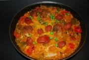 paella-carne