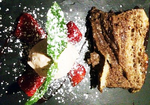 Pudding de Pan con Chocolate (G)