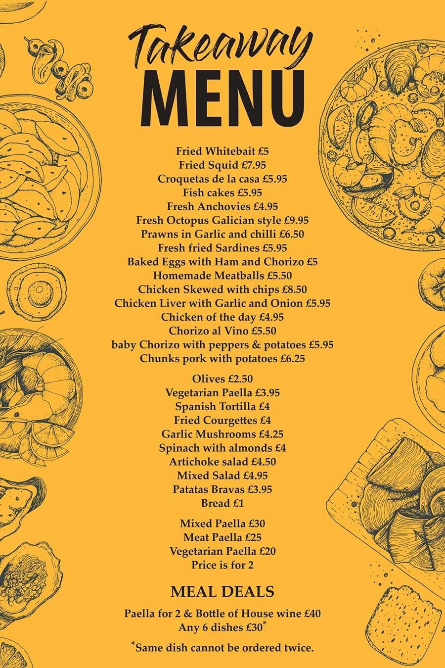 la-paella-tapas-bar-covid-menu-2020