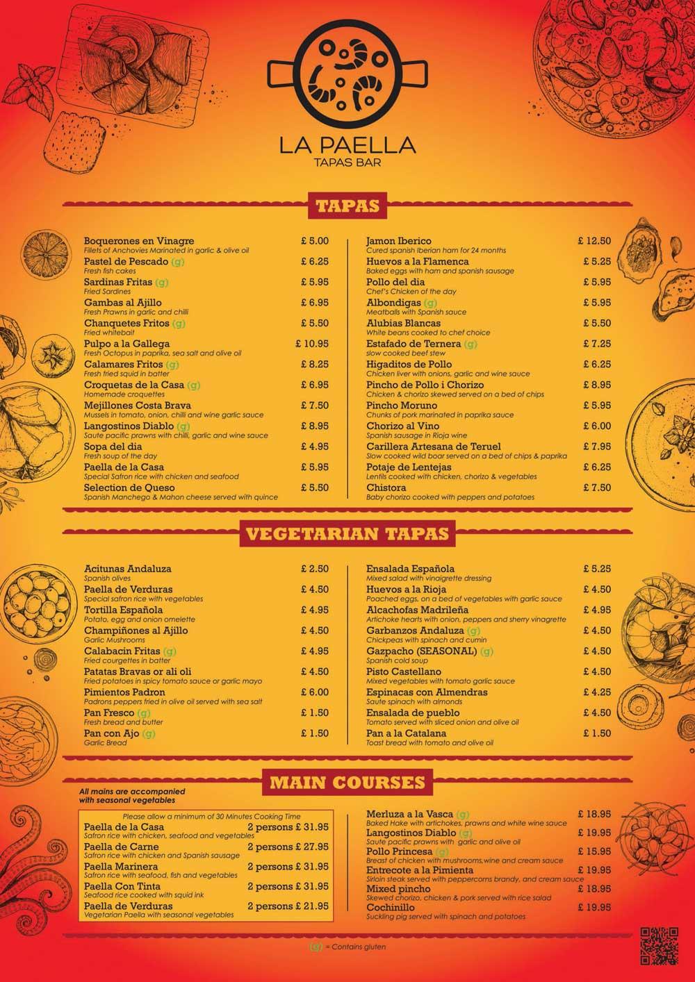 la-paella-tapas-bar-london-menu-2021
