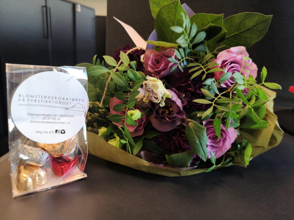 roser, blomster på jobb