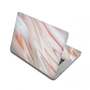 Pink Marble Laptop Skin Sticker For Laptop And Macbook