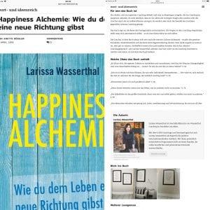 Happiness Alchemie - Wie du dem Leben eine neue Richtung gibst - Larissa Wasserthal