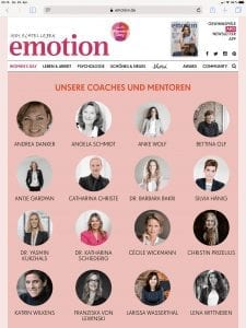 Womens Day Hamburg 2019 Emotion Magazin Larissa Wasserthal Coaching