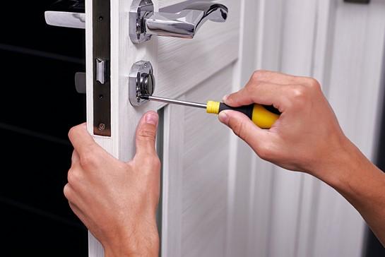 Låsemontering og installation af lås