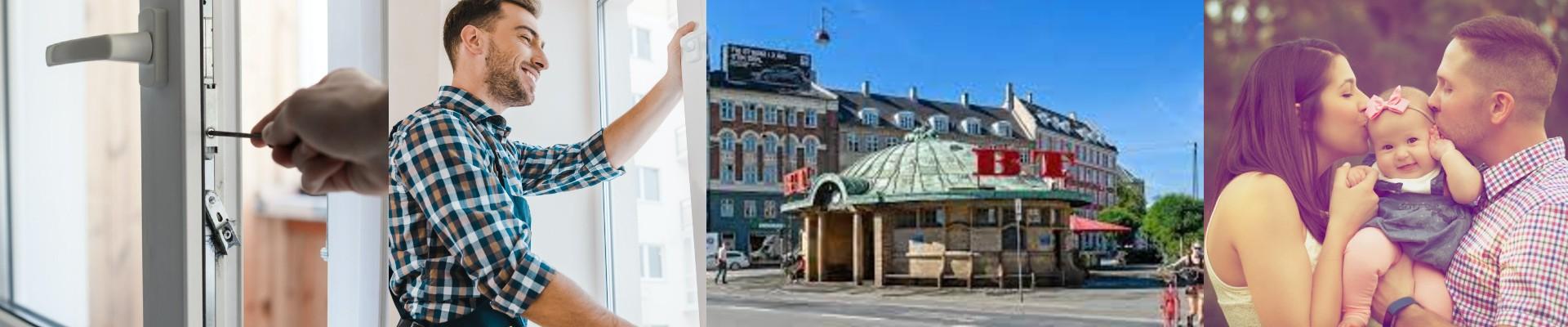 Låsesmed Østerbro, døgnvagt låse 24/7