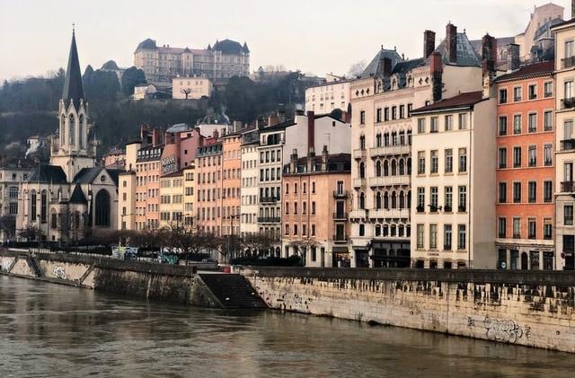 Oude binnenstand Lyon