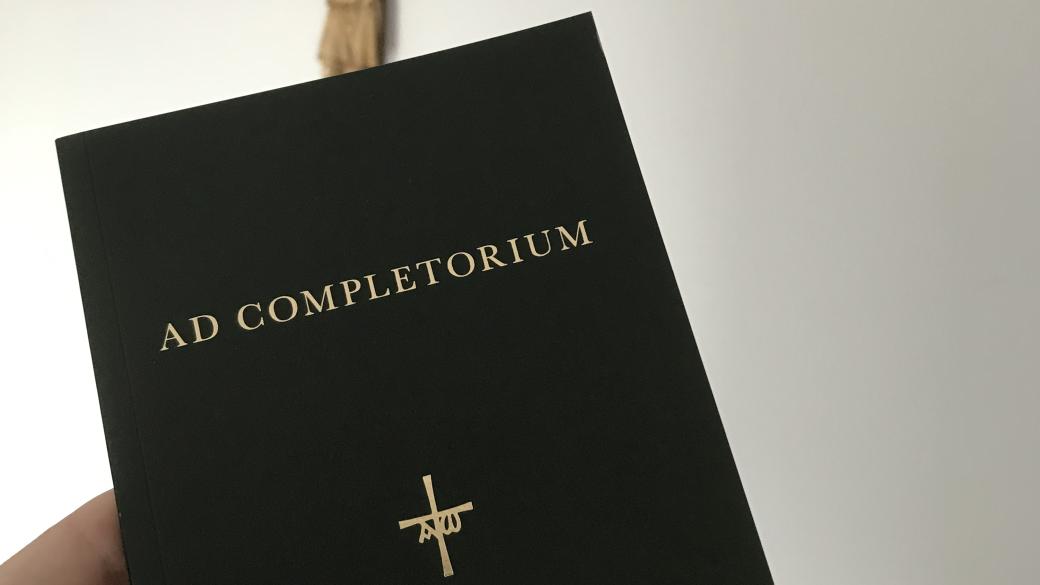 Nieuwe uitgave: Ad Completorium