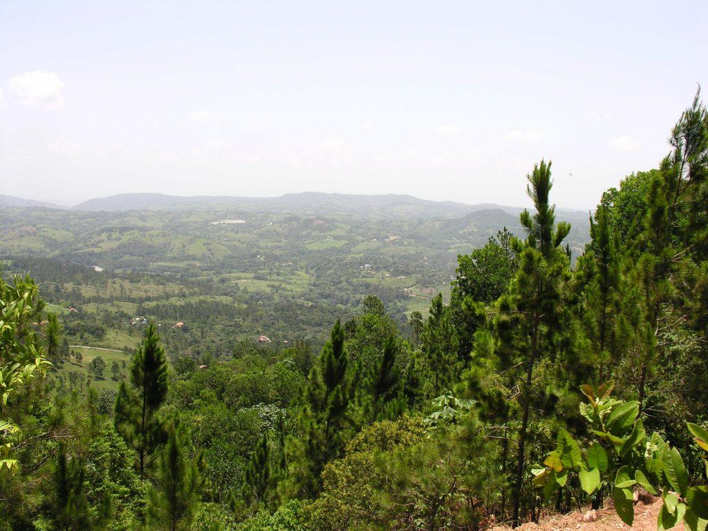 LatinA Tours Dominican Republic Jarabacoa - view over Jarabacoa, central valley