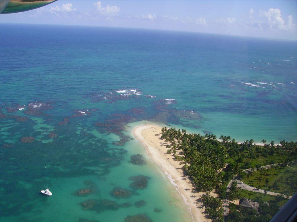 LatinA Tours DomRep Las Terrenas - Sandy beautiful beach, Ocean, Holiday, Headland