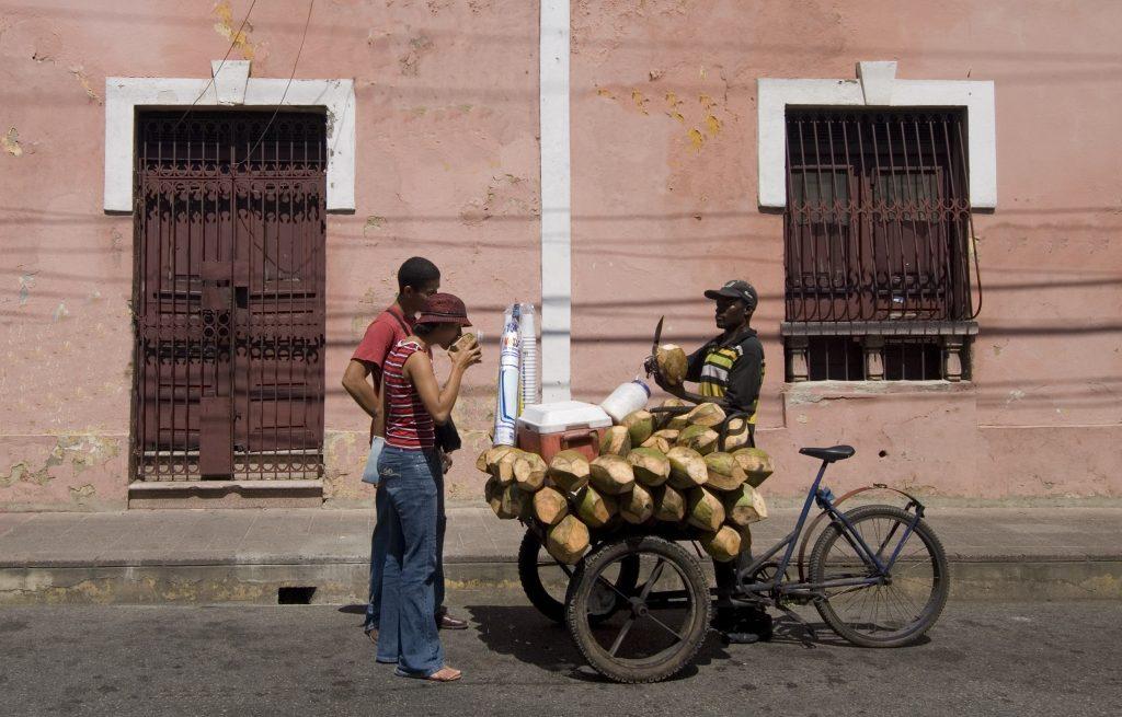 LatinA Tours DomRep Santo Domingo - City Tour, People, Fruits, Coconut Milk, Drinks