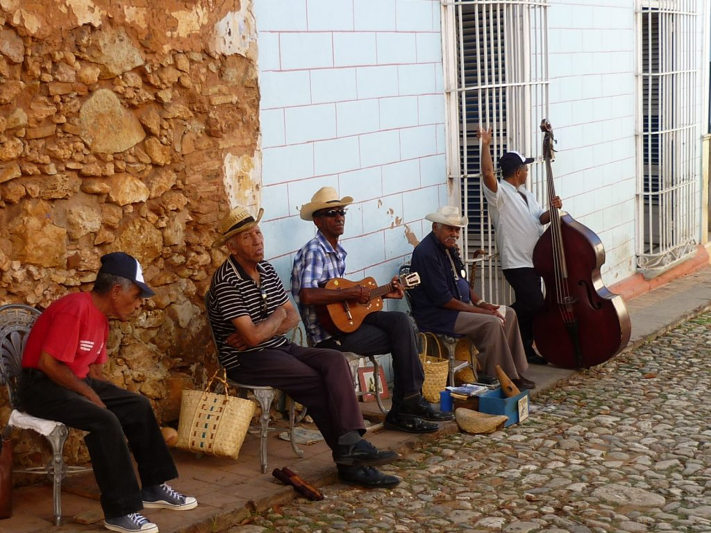 LatinA Tours Cuba Trinidad - Street, Musicians, Locals, Instruments, City, Lifestyle