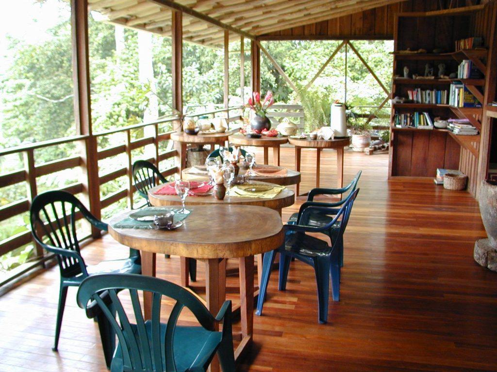 LatinA Tours Costa Rica Selva Bananito Lodge Restaurant