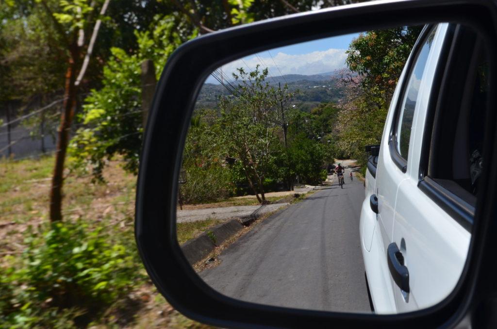 LatinA Tours Costa Rica E-Bike Rückspiegel