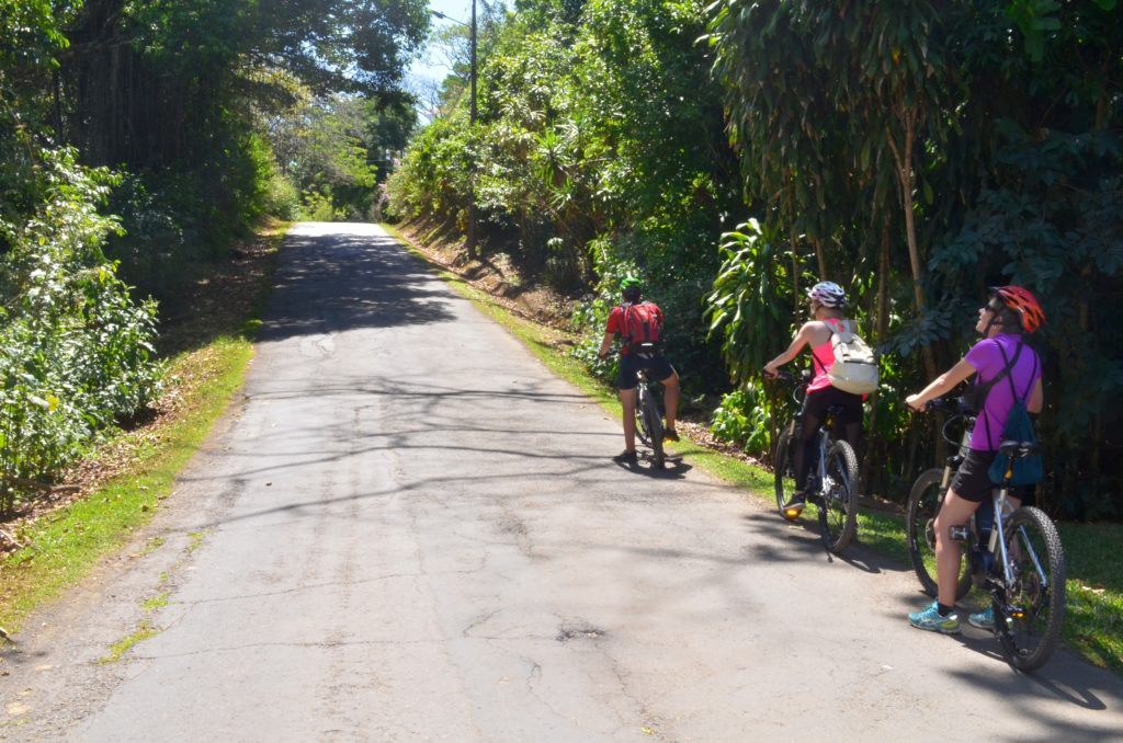 LatinA Tours Costa Rica E-Bike Straße