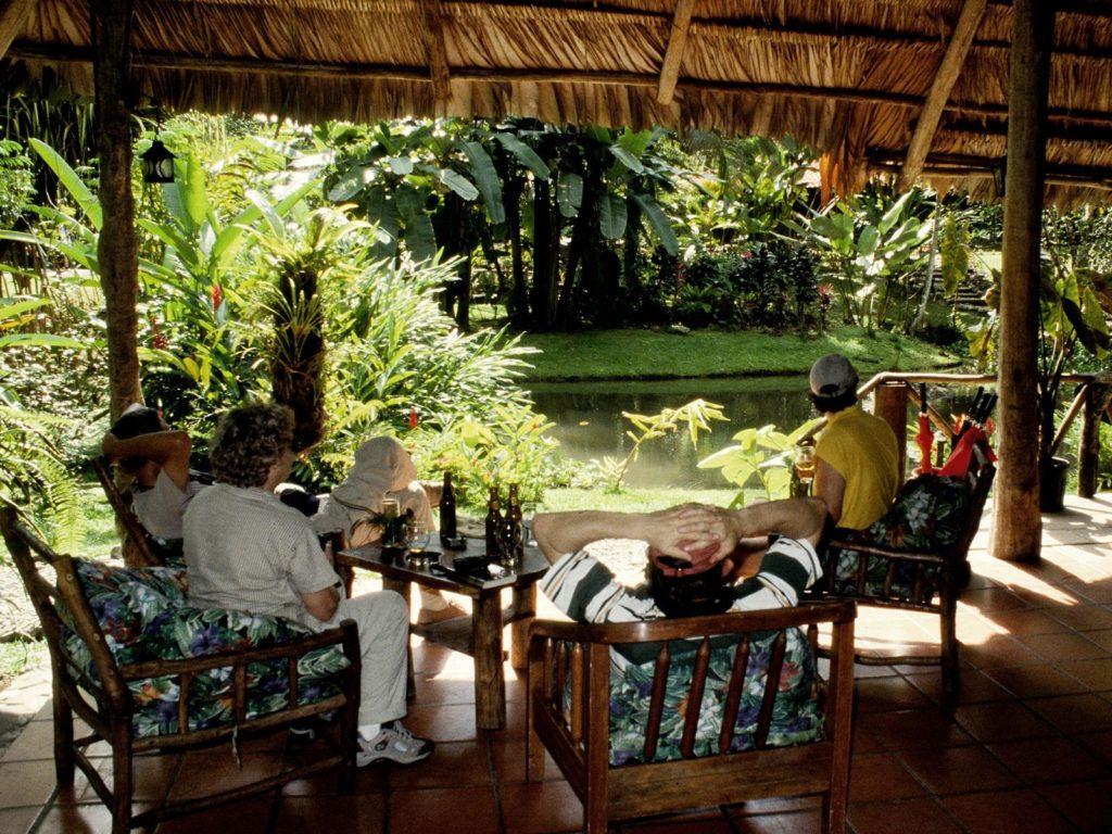 LatinA Tours Costa Rica Esquinas Lodge Lounge