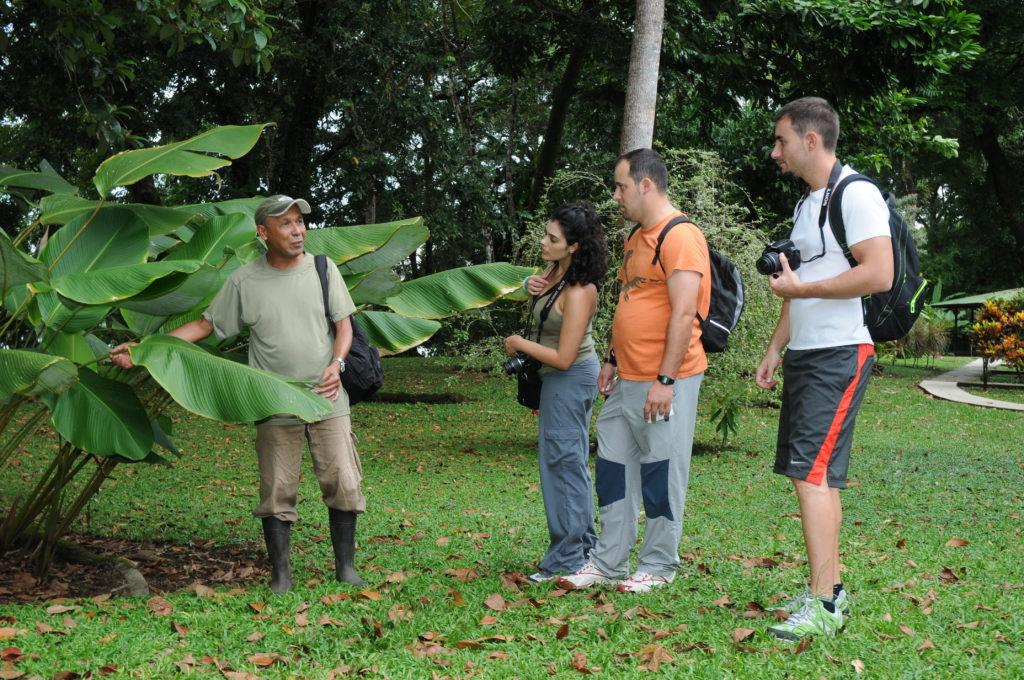 LatinA Tours Costa Rica Mawamba Gartentour