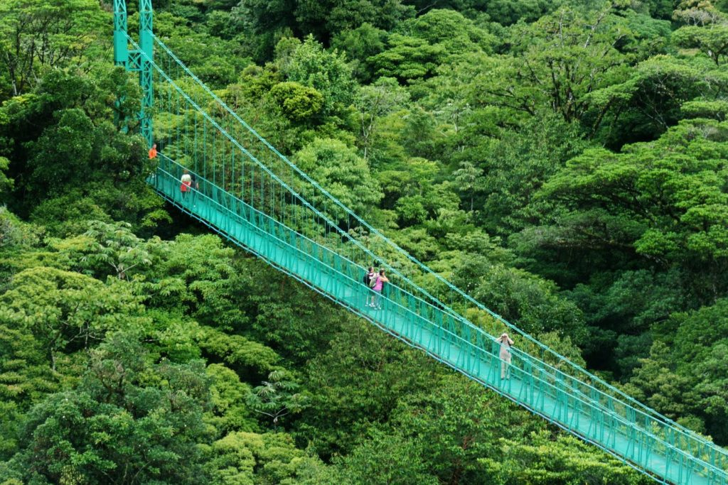 LatinA Tours Costa Rica Monteverde Hanging Bridges
