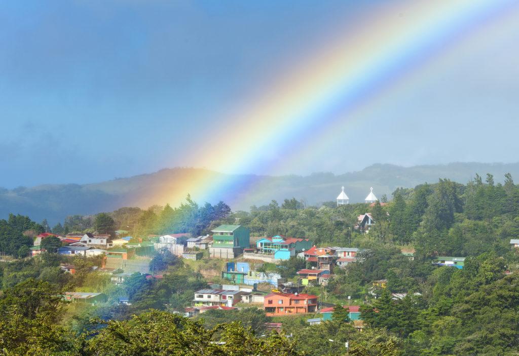 LatinA Tours Costa Rica Santa Elena Town View