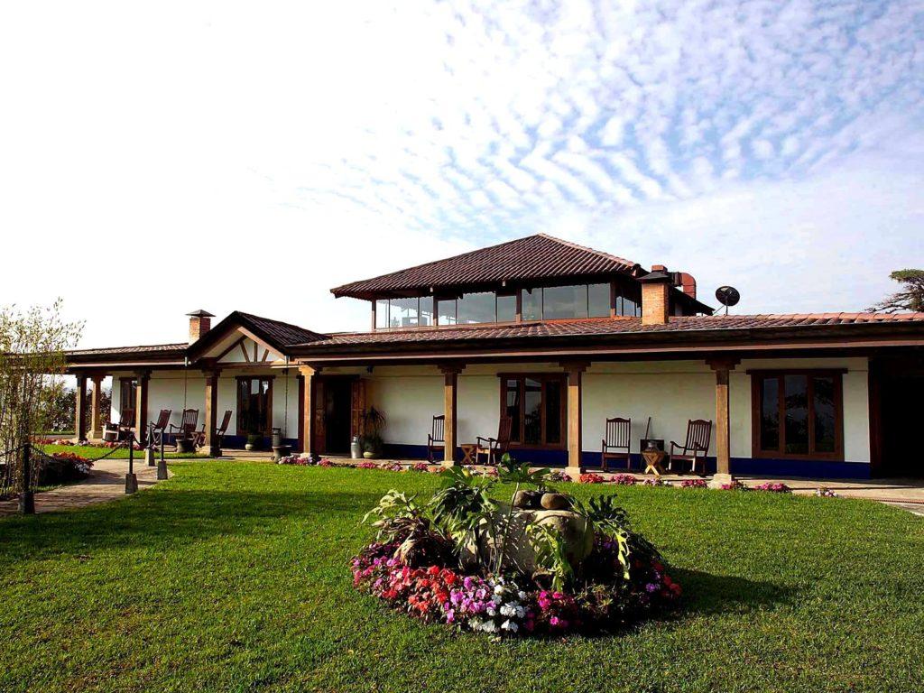 LatinA Tours Costa Rica Villa Blanca Haupthaus