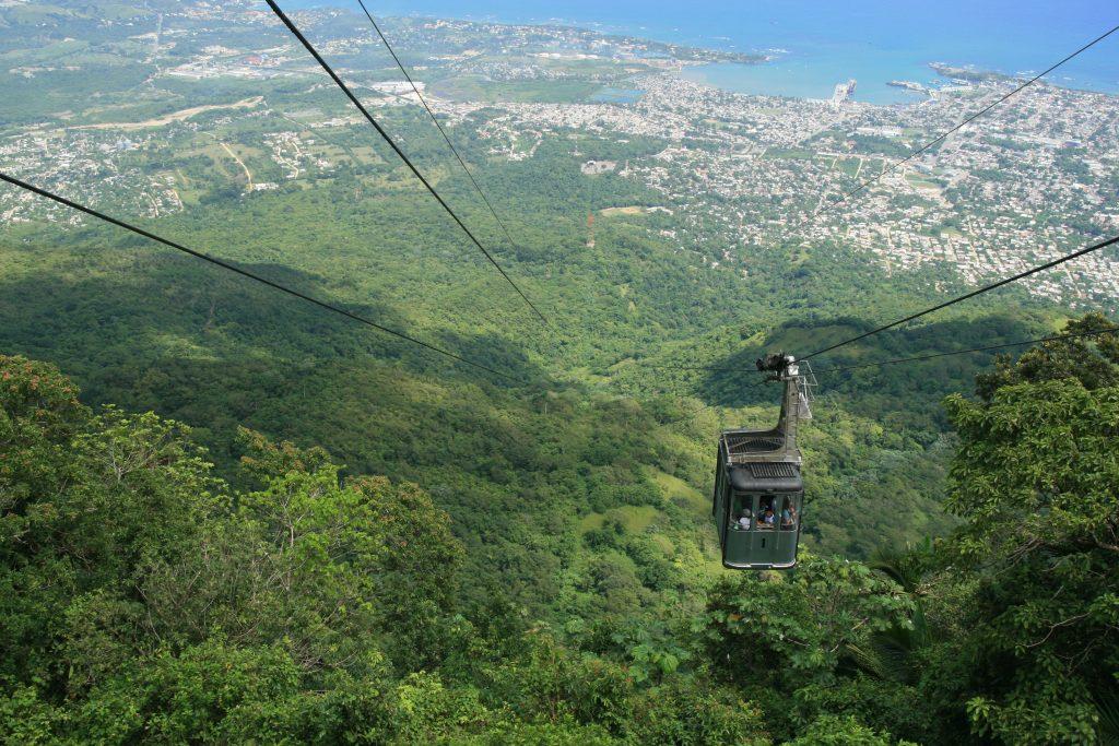 LatinA Tours DomRep Puerto Plata - Playa Dorada, Cable car, Mountain, Isabel de Torre