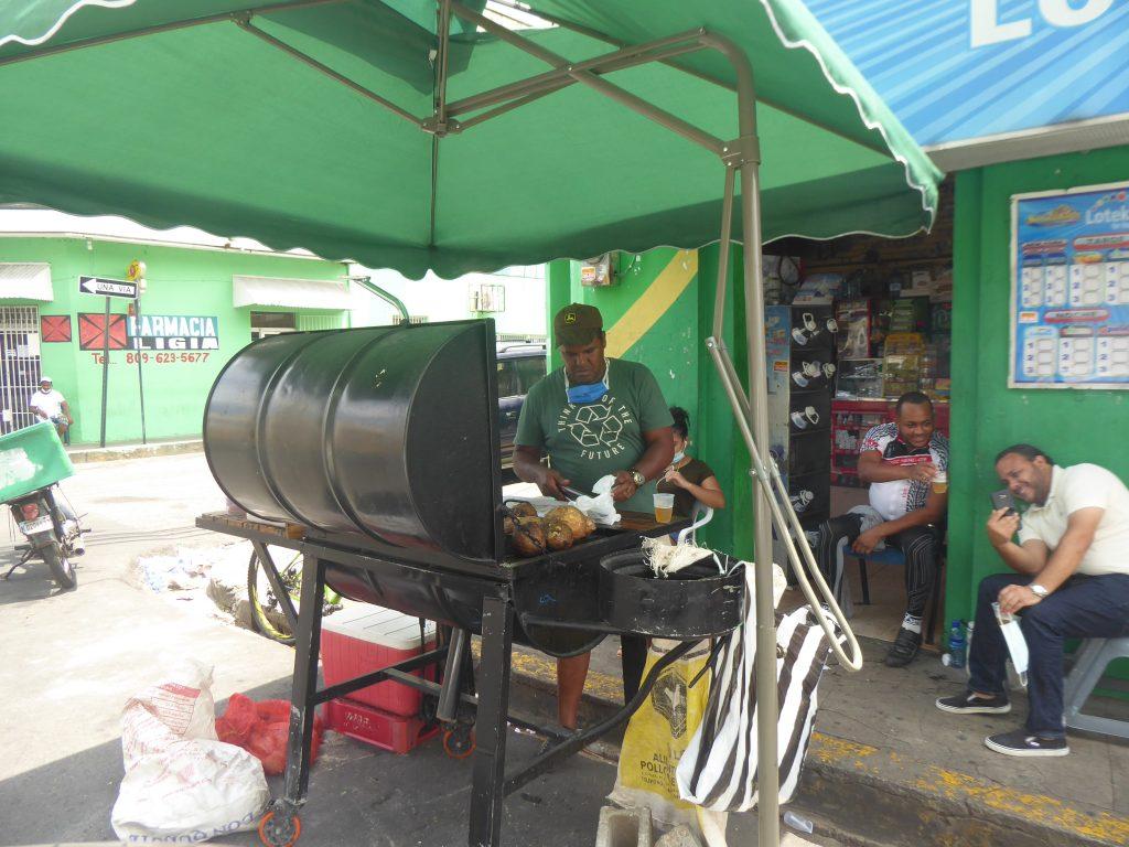 LatinA Tours Dominikanische Republik Garküche Süsskartoffeln Batata