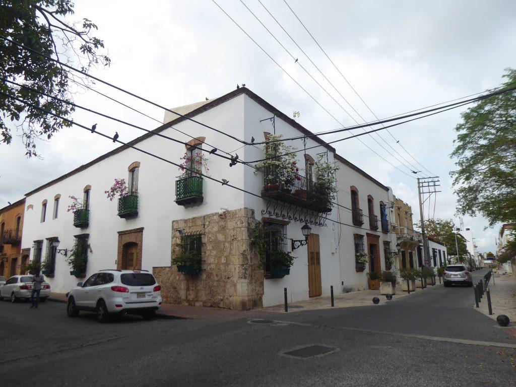 LatinA Tours Zona Colonial Hausansicht Altstadt Santo Domingo DomRep