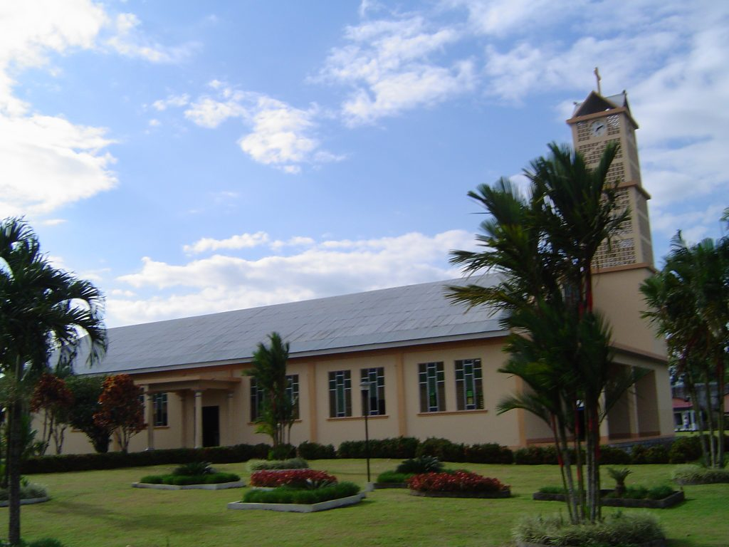 LatinA Tours Costa Rica Kirche La Fortuna Church