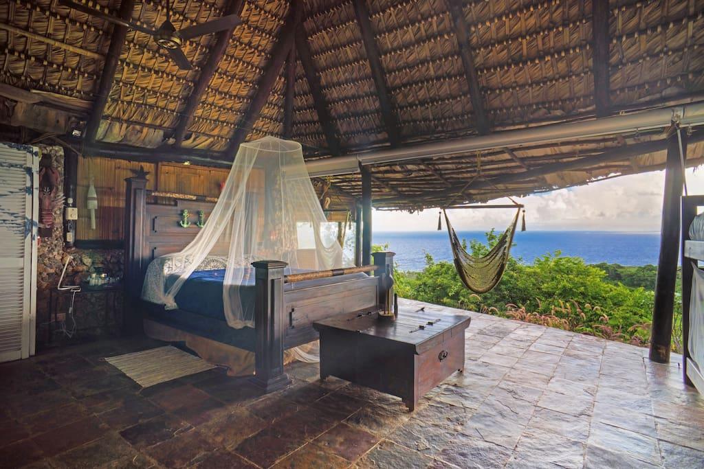 LatinA Tours DomRep Las Galeras Casa Paraiso Zimmer Aussicht
