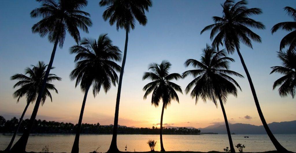LatinA Tours DomRep Las Galeras Sonnenuntergang Strand