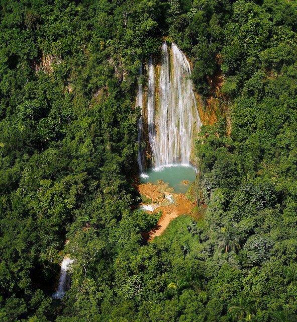 LatinA Tours DomRep Salto El Limon Wasserfall Samana