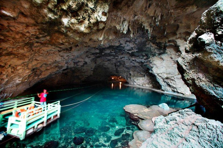 LatinA Tours DomRep Santo Domingo Los Tres Ojos Höhlensystem Park