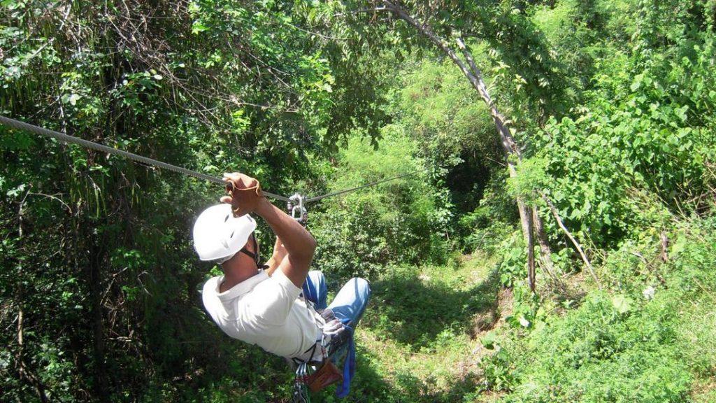 LatinA Tours DomRep Zipline Canopy Samana Erlebnis Ausflug