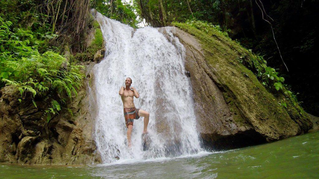 LatinA Tours Dominikanische Republik Cascada Lulu Wasserfall El Valle