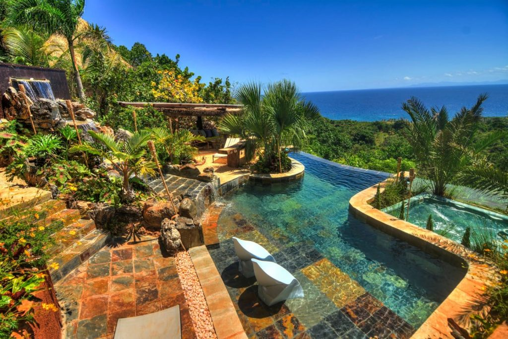 LatinA Tours Dominikanische Republik Las Galeras Casa Paraiso Pool