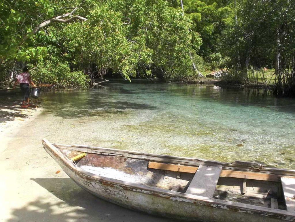 LatinA Tours Dominikanische Republik Playa Rincon Fluss Bootsfahrt