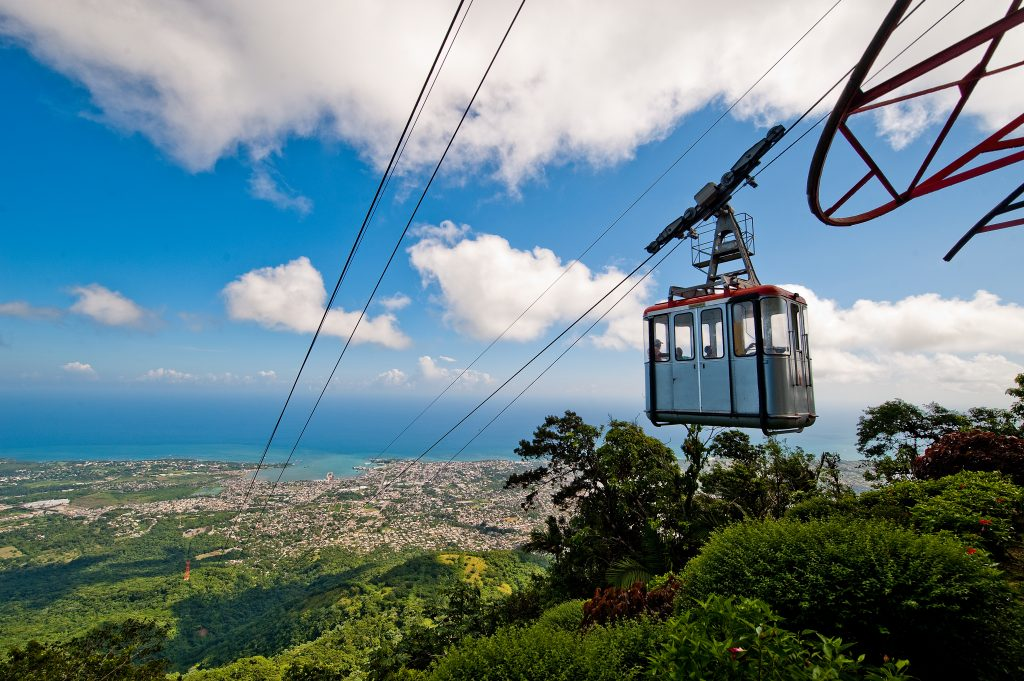 LatinA Tours Dominikanische Republik Seilbahn Monte Isabel Torres Berg Puerto Plata