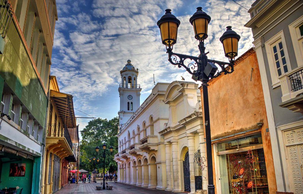 LatinA Tours DomRep Santo Domingo Zona Colonial Einkaufsstrasse
