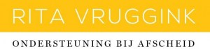 Logo Rita Vruggink, Ondersteuning bij Afscheid